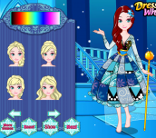 Hra - Elsa's Patchwork Dress