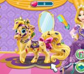 Hra - Rapunzel's Messy Pony