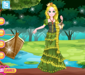 Hra - TheLongHairRapunzelDressUp