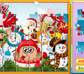 Hra - Pou Holiday Puzzle