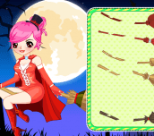 Hra - Magic Girl Dress Up