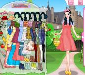 Hra - Snow White Apple Farmer Dress Up