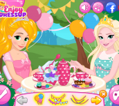 Hra - DisneyPrincessesTeaParty