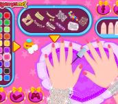 Hra - Baby Barbie Glittery Nails