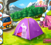 Hra - Barbie Going To Family Camping