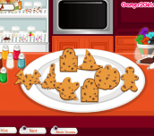 Hra - CookingFrenzyHalloweenCookies