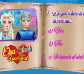 Hra - Elsa & Jack Love Test