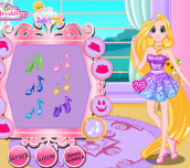 Hra - RapunzelGlitteryMakeover