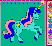 Hra - Horse&UnicornColoringBook