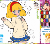 Hra - Glitter Force Coloring Game