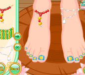 Hra - Mermaid Ariel Pedicure