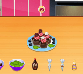 Hra - ChocolateCupcakesSara'sCookingClass