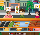 Hra - Super Burger Shop