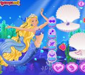 Hra - Barbie Mermaid Princess