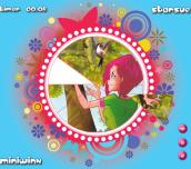 Hra - Winx Tecna Style: Round Puzzle
