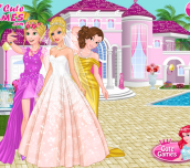 Hra - Barbie'sWeddingSelfiewithPrincesses