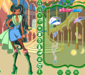 Hra - Winx Club Aisha Season 5 Outfits