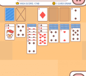 Hra - Cute Kitten Solitaire