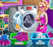 Hra - Superdoll Washing Capes