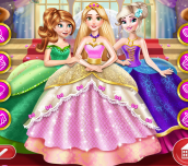 Hra - Goldie Princess Wedding
