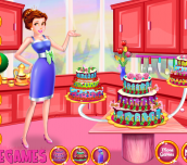 Hra - Princess Dede Sweet Cake Decor