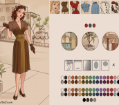 Hra - Azaela's 1940s Fashion
