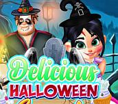 Hra - Delicious Halloween Cupcake