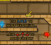 Hra - FireboyandWatergirl2