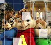 Hra - AlvinaChipmunkoviaPuzzle