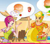 Hra - Winx Burger Shop