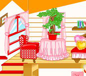 Hra - Červená izbička pre bábiku