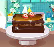 Hra - Double Laywred Chocolate Cake