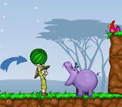 Hra - Kŕmenie hrochov