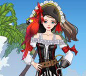 Hra - PrettyPiratePerfectDressUp