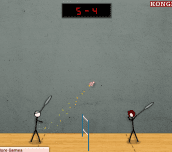 Hra - StickFigureBadminton2