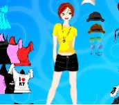 Hra - BarbieDressup2