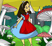 Hra - AliceinWonderlandColoring