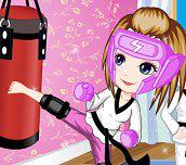 Hra - Malá kickboxerka