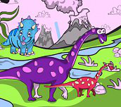 Hra - Dino Coloring Book