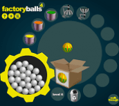 Hra - Factory Balls 4