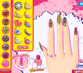 Hra - Leopard Grain Nails Fashion Diy