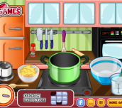 Hra - ChefBarbieBakedMacandCheese