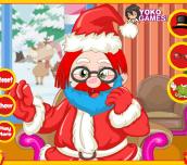 Hra - Santa Claus hair salon
