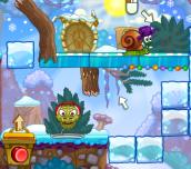 Hra - Snail Bob 6 Winter Story