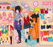 Hra - Sakura Dress Up
