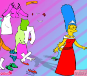 Hra - Marge Simpson