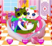 Hra - HeartCatsDressUp