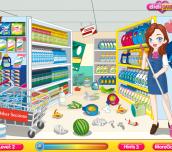Hra - CleaningTimeSupermarket