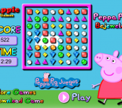 Hra - PeppaPigBejeweled
