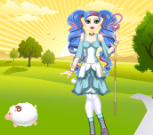 Hra - EverAfterHighBoPeepDressUp